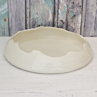 Cream Porcelain Entice Platter