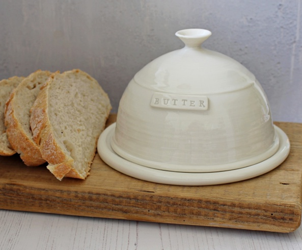 personalise butter dish gift