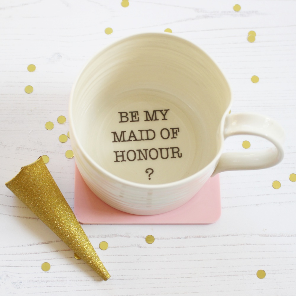 Be My Maid of honour Mug