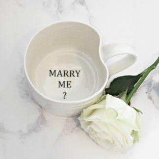 Marriage proposal mug