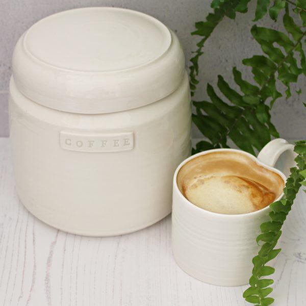Tea coffee sugar storage jars