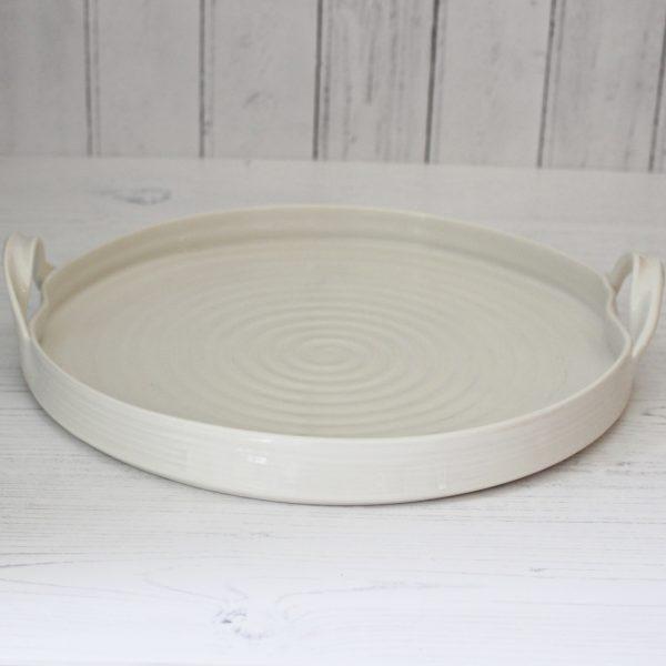 circular serving tray