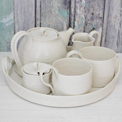 Mug tea set for two valentines gift