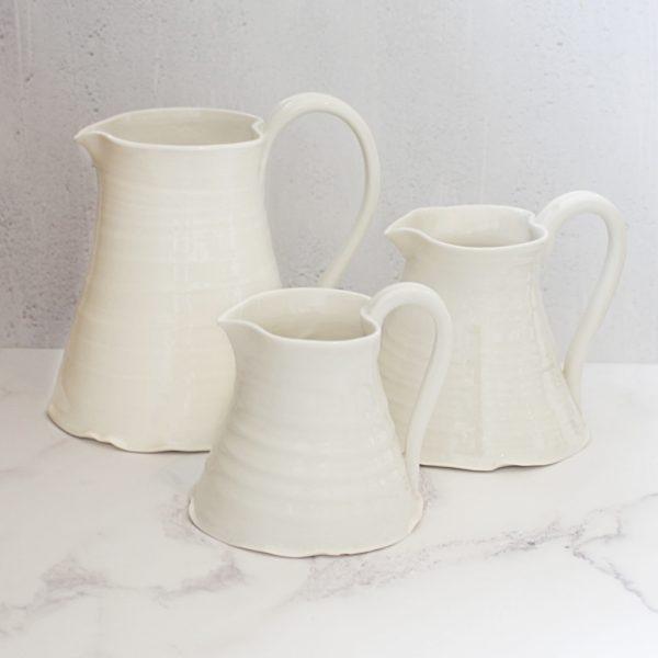 handmade porcelain Milk jug