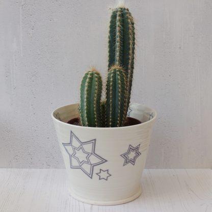 Metropolis Star indoor plant pot