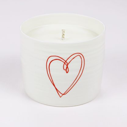 valentines candle gift