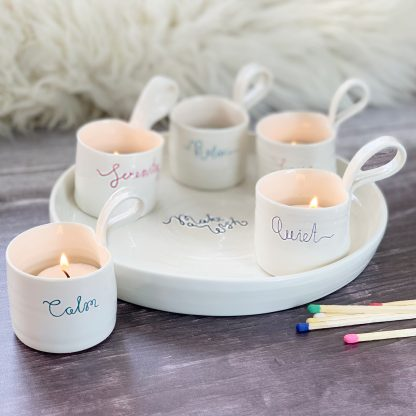 candle holder centre piece gift