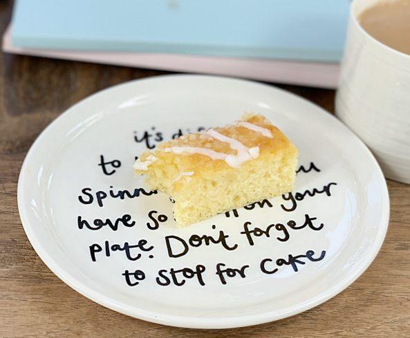 cake plate birthday gift