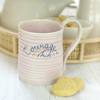 Courage motivational mug gift