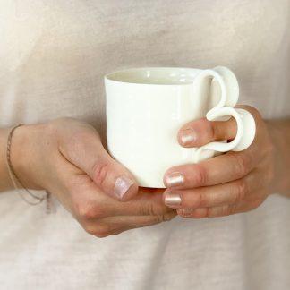 Heart handle keepsake mug gift