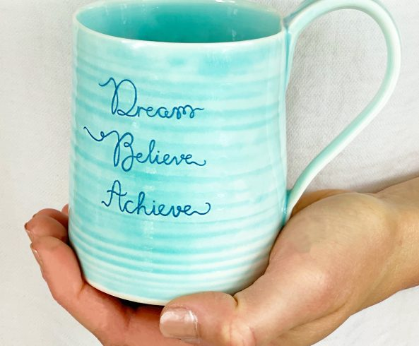 positive message mugs