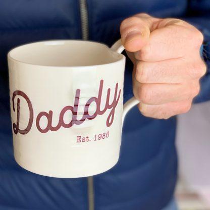 fathers day daddy mug gift