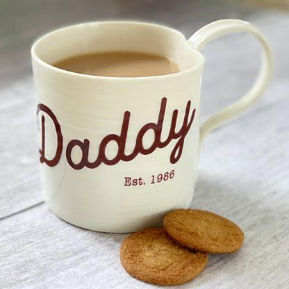 Daddy fathers day mug gift