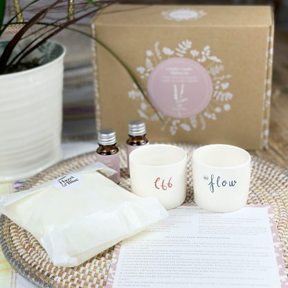 soy couples candle kit
